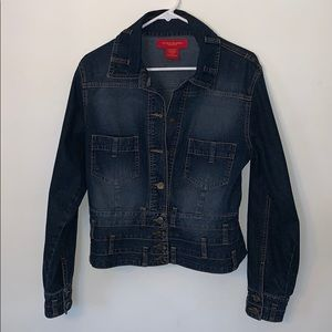 Not Your Daughters Jeans Jacket Size 8